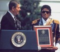 White House : Presidential Award - michael-jackson photo