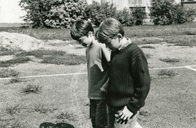 Young Rupert and Daniel