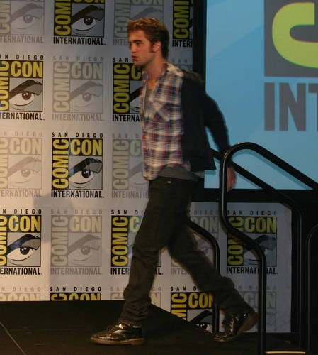 awesome Robert Pattinson The 'New Moon' threesome at the SDCC press conference