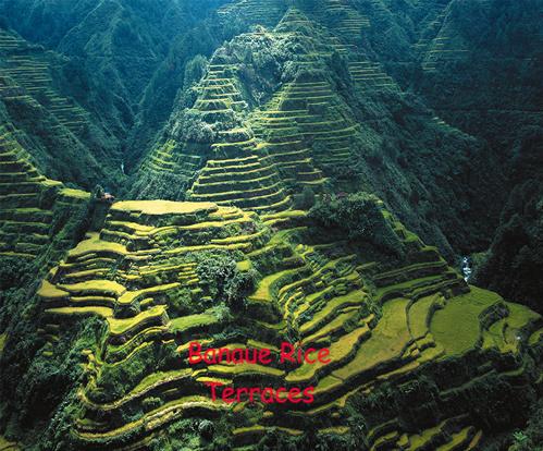banaue rijst terraces