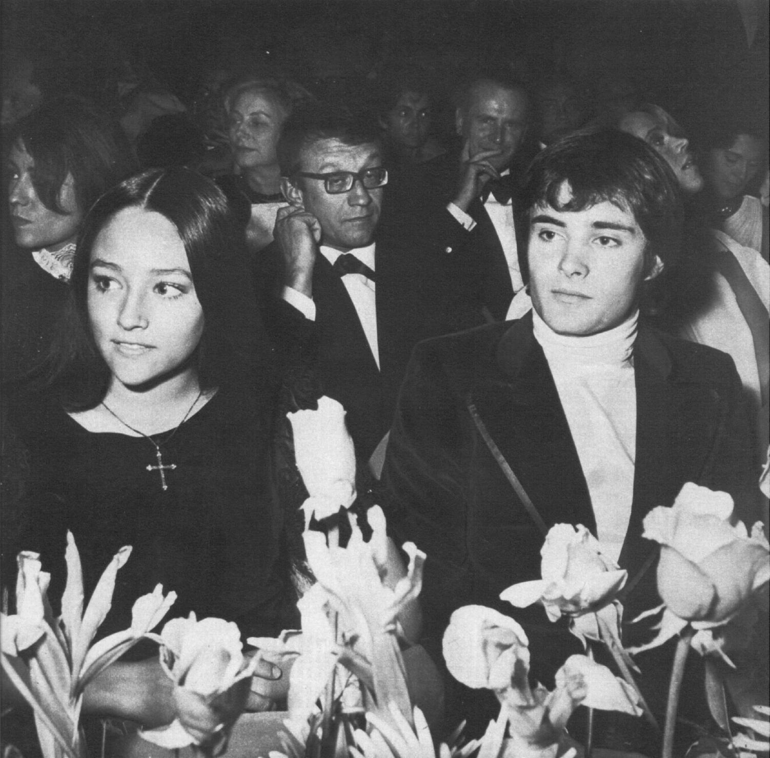Leonard whiting & Olivia Hussey images black and white HD ...
