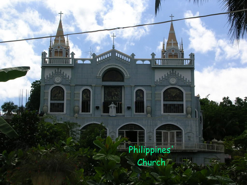 example of Philippines'church