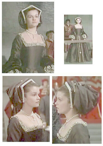 Anne Boleyn 壁紙 possibly with a マンティラ called genevieve bujold