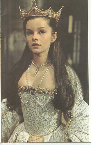 Anne Boleyn 壁紙 probably with a fedora titled genevieve bujold