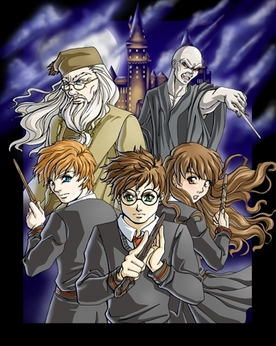 harry potter manga 6