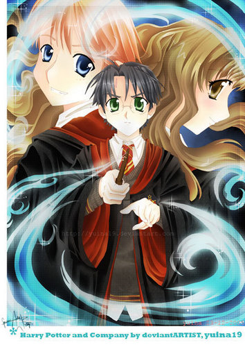 Hermione Granger wallpaper probably containing anime called hermione <3
