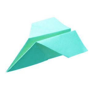 recoloured paper planes