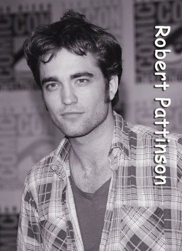 robert pattinson - i was boring so i made this =)