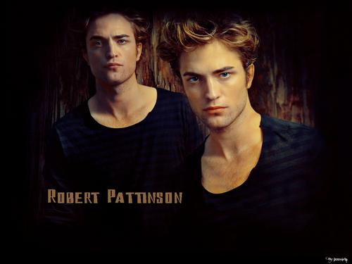 Robert Pattinson achtergrond with a portrait entitled robert pattinson