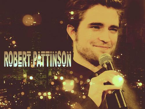 Robert Pattinson wallpaper containing a concert called robert pattinson