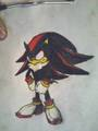 shadow with long hair