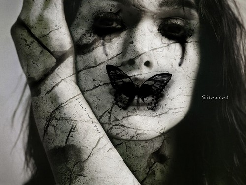 Film horror wallpaper titled silence is Golden
