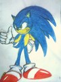 sonic wit the long hair style