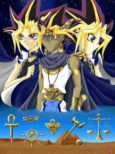 three pharaohs