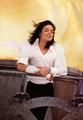 """Black or White"" Set - michael-jackson photo"