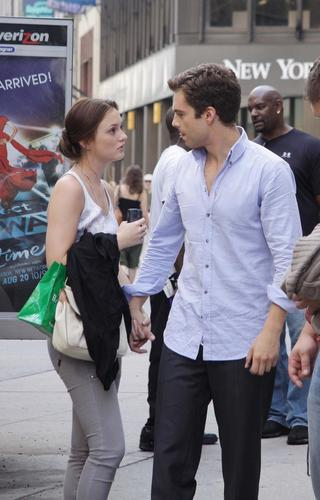 07.27.09: On the set of Gossip Girl, NYC