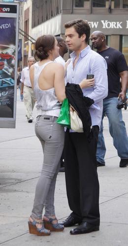 07.27.09: On the set of Gossip Girl, NYC