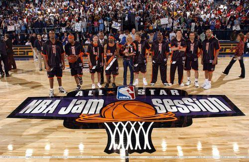 2004 NBA জ্যাম Session Celebrity Game (Feb. 12. 2004) <3
