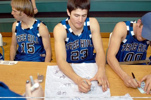 2nd Annual James Lafferty Basket Ball Game (Feb. 11. 2005) <3