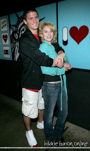 5.17.2005: James Lafferty & Hilarie burton visit TRL <3