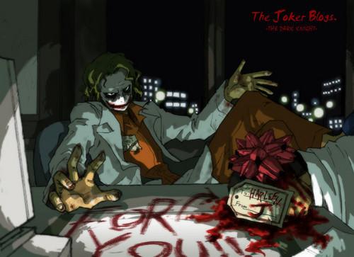 A present from the Joker