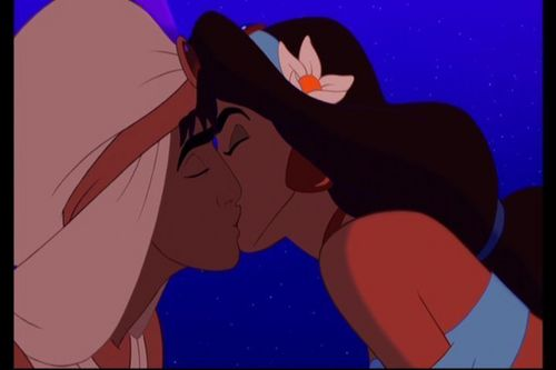 Disney's Couples wallpaper with anime called Aladdin and Jasmine