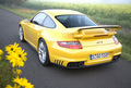Alice's Yellow Porsche 911 Turbo