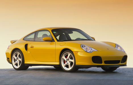Yellow Porsche Cars