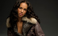 Alicia Keys in Fur-Rimmed Coat [1920x1200] - alicia-keys wallpaper