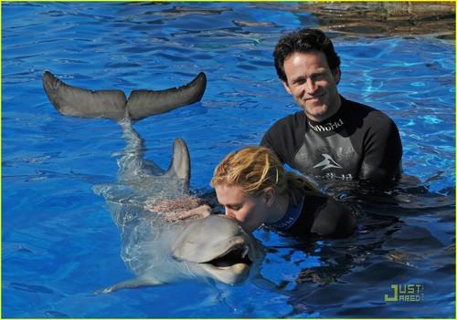 Anna & Stephen <3 in Seaworld.