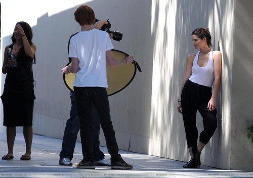 Ashley - Photoshot's Backstage in West Hollywood