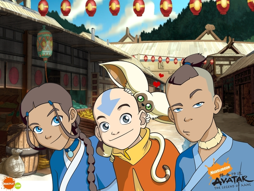 Avatar: The Last Airbender Avatar gang desktop