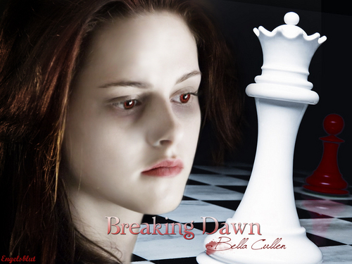 Twilight Series wallpaper entitled Bella Breaking Dawn