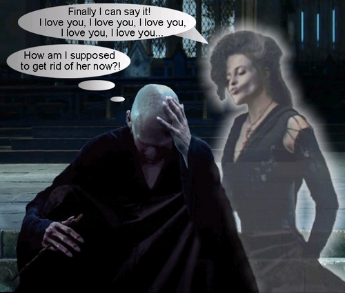 Bellatrix and Lord Voldemort images Bellatrix and ...