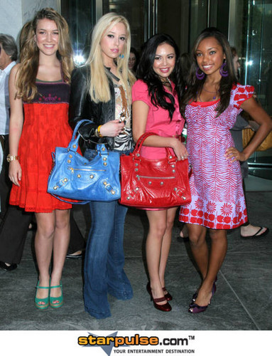 Bratz Cast Members Visit CBS The Early ShowCBS Studios 7/25/2007