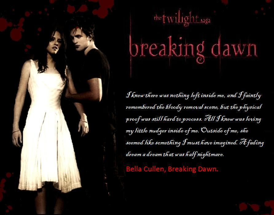 breaking dawn edwards pov Fanpop original article: i walked out of carlisle's study i deeply thought about our conversation i co.