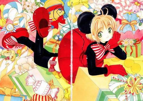 Cardcaptor Sakura wolpeyper probably with anime titled CCS!