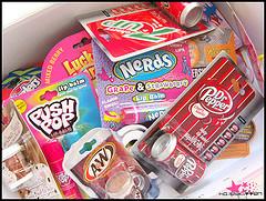 Süßigkeiten Lipbalms