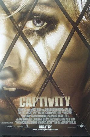 Captivity Movie poster