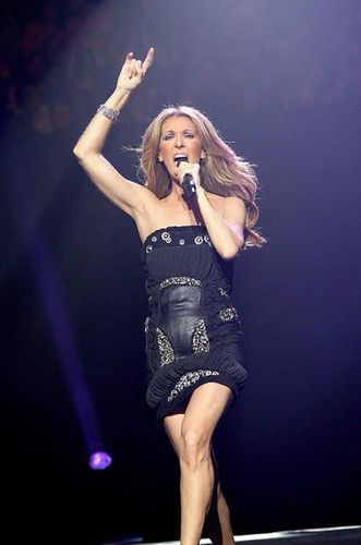 Celine Dion achtergrond possibly with a leotard, a concert, and tights entitled Celine <3