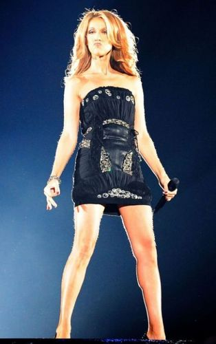 Celine Dion achtergrond probably containing a playsuit, boxpakje and a leotard entitled Celine <3