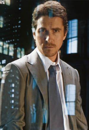 Christian Bale; being beautiful
