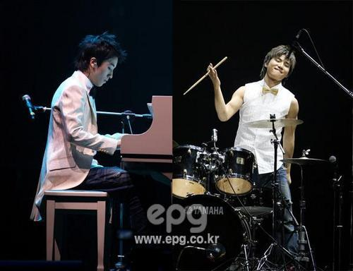 Dae Sung and Seung Ri