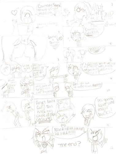 Dammit, あなた can't see it much, but it's a comic for TDIfangirl :D