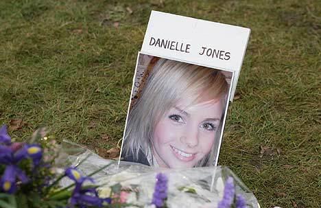 Danielle's funeral picture
