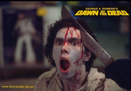 Horror films achtergrond entitled Dawn of the Dead