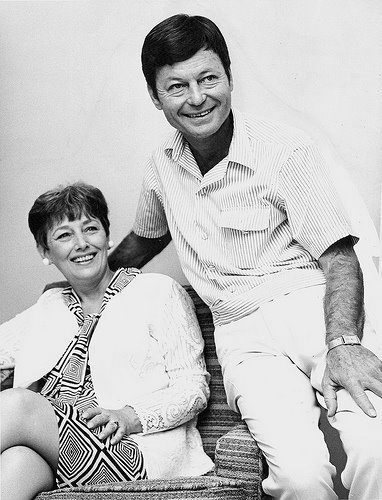 DeForest Kelley and his wife,Carolyn