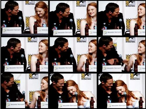Deb & Alex at comic con