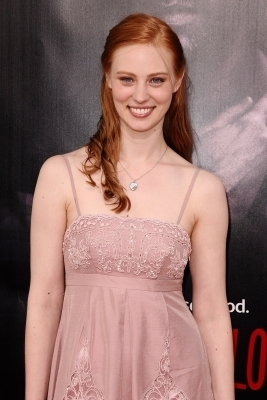 Deborah Ann Woll wallpaper possibly containing a dinner dress entitled Deborah