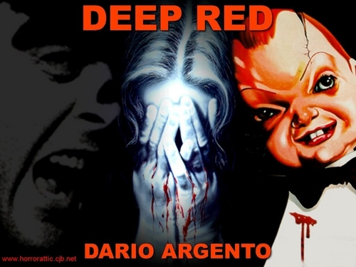 Horror films achtergrond containing anime titled Deep Red